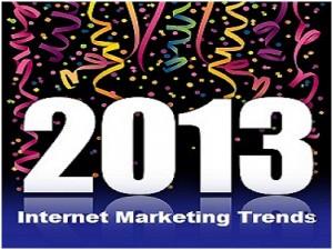 Internet Marketing trends 2013